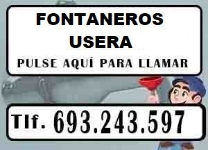 Fontaneros Usera Madrid Urgentes