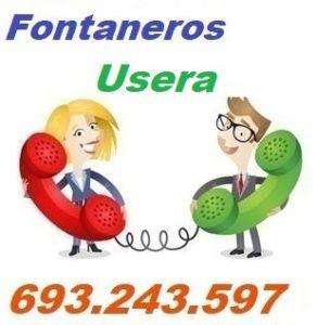 Telefono de la empresa fontaneros Usera